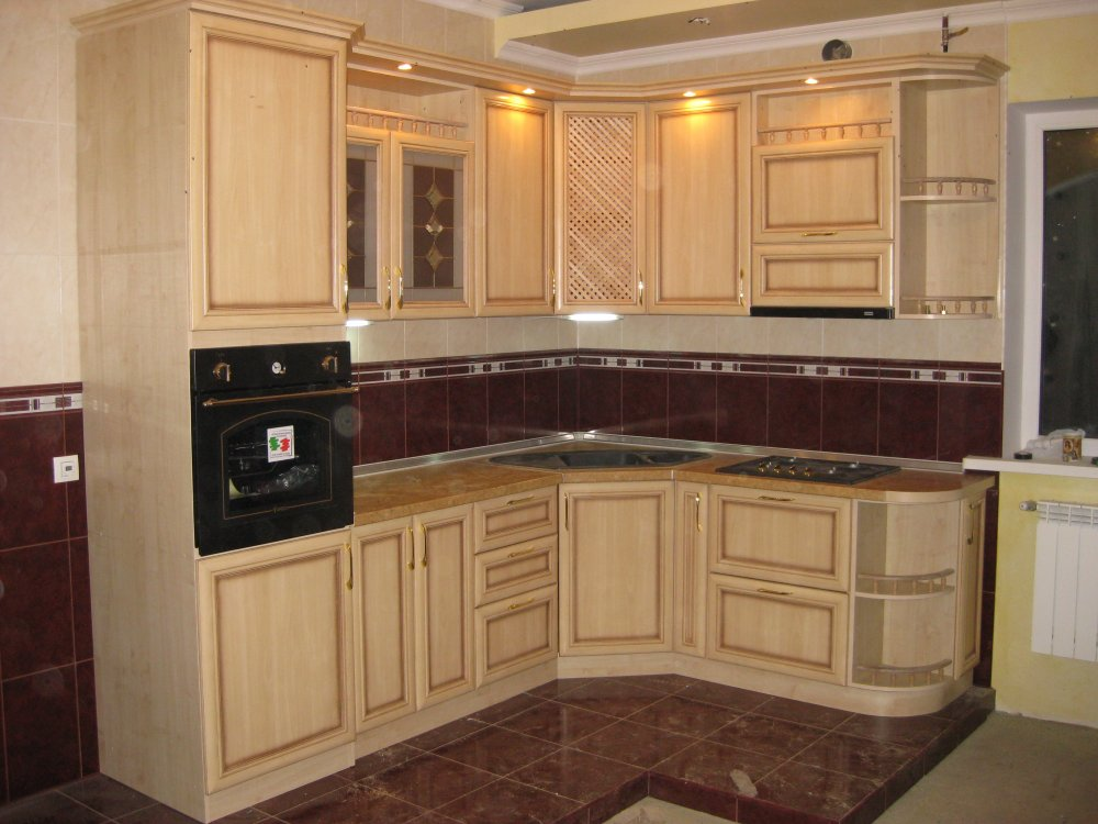 Кухня патина фото